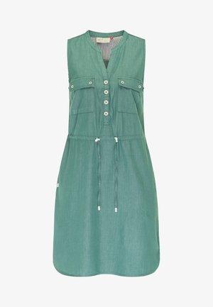 ROISIN - Denim dress - dusty green