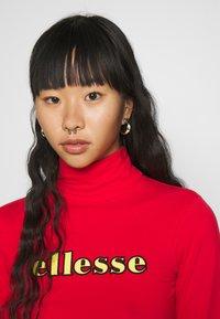Ellesse - VORAN - Long sleeved top - red - 3