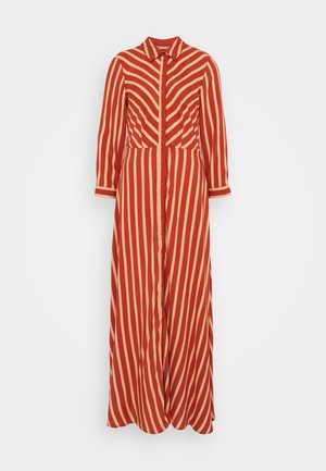 YASSAVANNA STRIPE LONG DRESS - Vestido largo - arabian spice