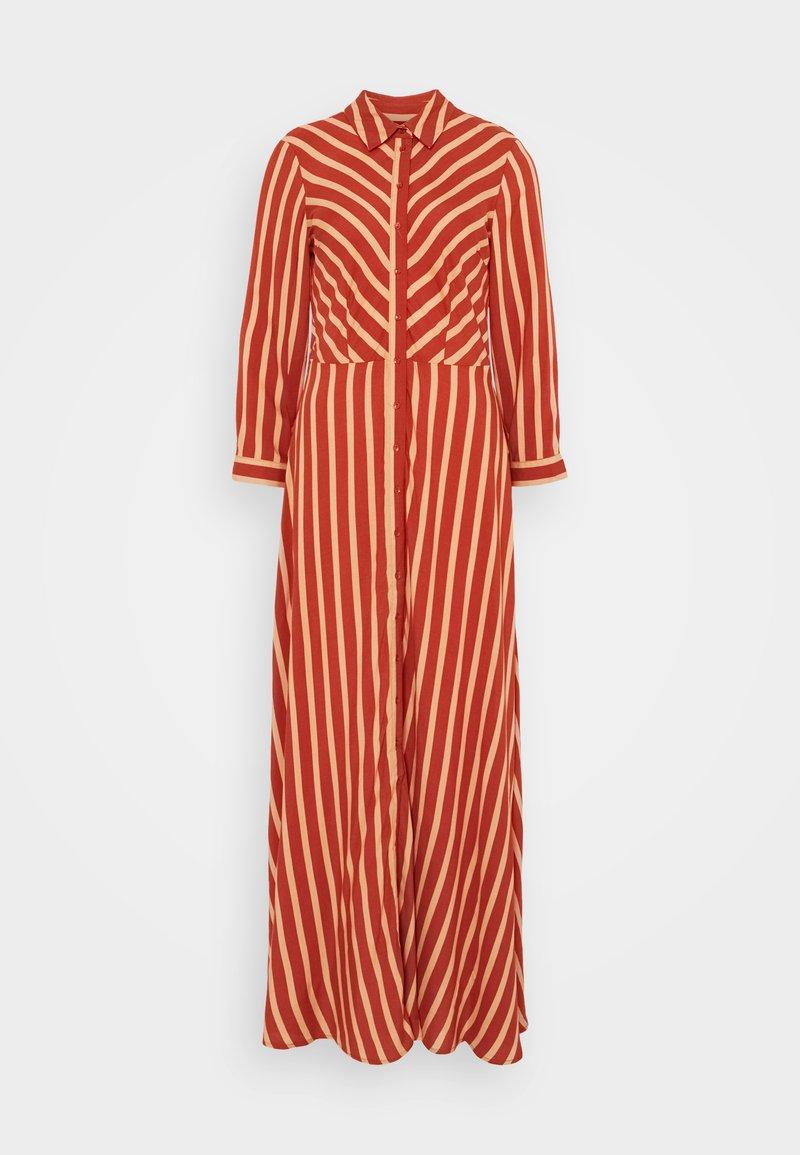 YAS Tall - YASSAVANNA STRIPE LONG DRESS - Maxi dress - arabian spice