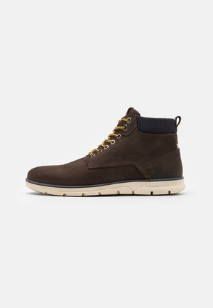 JFWTUBAR JAVA - Lace-up ankle boots - brown