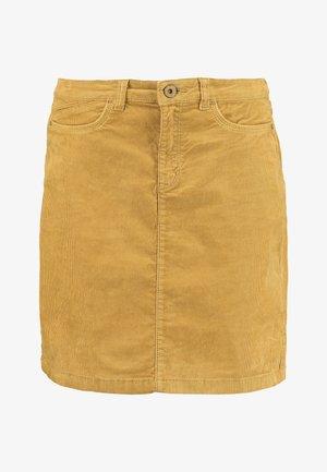 SKIRT - A-lijn rok - amber yellow