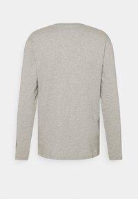 Black Diamond - LOGO SLEEVE TEE - Långärmad tröja - nickel dune heather - 1