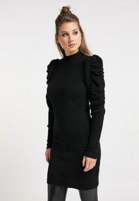 myMo ROCKS - Vestido de tubo - schwarz - 0