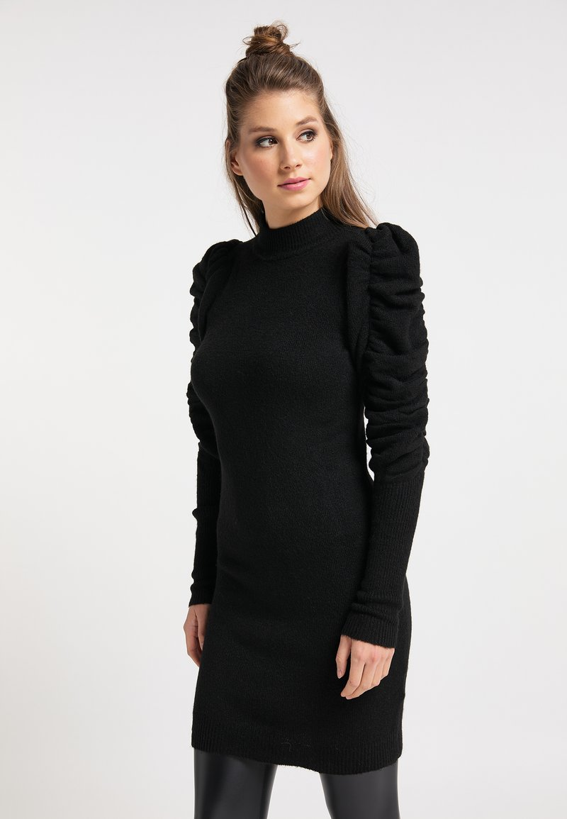 myMo ROCKS - Vestido de tubo - schwarz