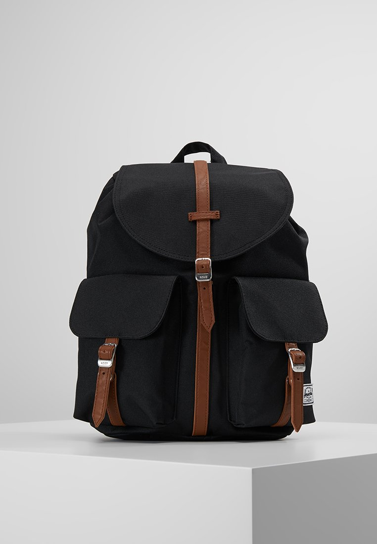 Herschel - DAWSON X SMALL - Reppu - black/tan
