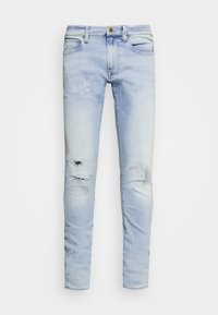 REVEND SKINNY - Jeansy Skinny Fit - elto pure superstretch/sun faded ripped topaz blue