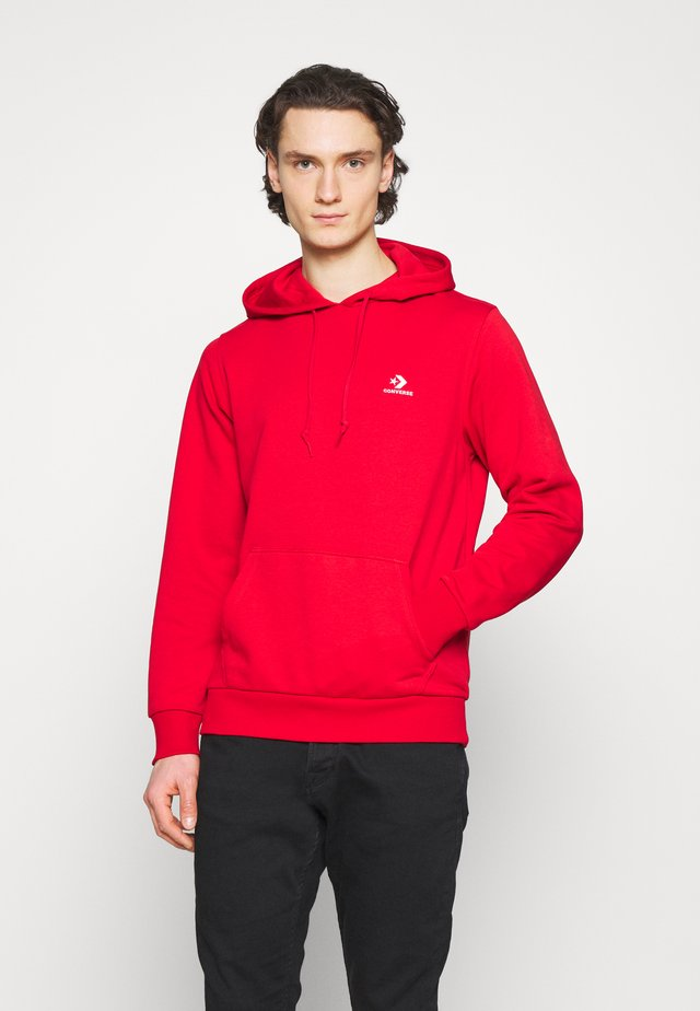 STAR CHEVRON FRENCH TERRY HOODIE - Sweatshirt - university red