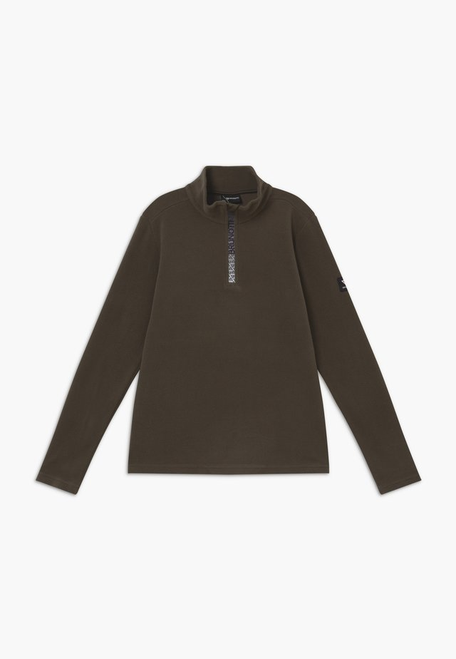 TENNO BOYS - Fleece trui - pine grey