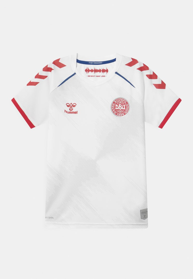 Hummel - DÄNEMARK DBU AWAY UNISEX - Club wear - white