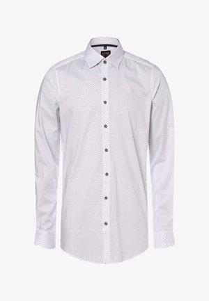 Shirt - weiß marine