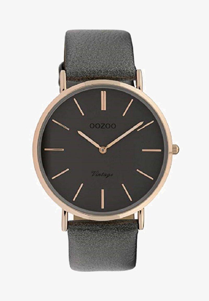 OOZOO - VINTAGE - Watch - dunkelgrau rose