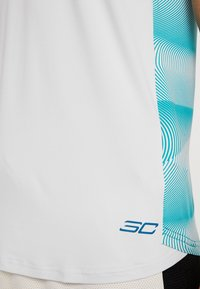 Under Armour - CURRY ELEVATED  - Top - halo gray/teal rush/black - 6