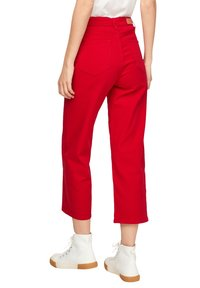 s.Oliver - Trousers - true red - 2