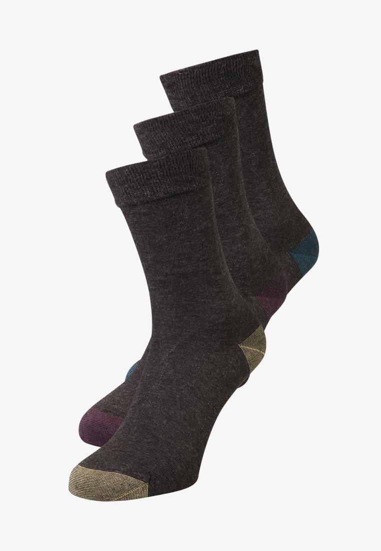 DIM - MIX & MATCH 3 PACK - Ponožky - anthracite canard