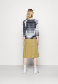 Object - OBJCAT SKIRT - A-line skirt - khaki - 2