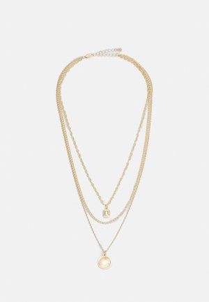PCSHARIN COMBI NECKLACE - Necklace - gold-coloured