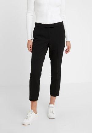 NEW CROPPPED - Kalhoty - black
