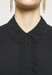 Bruuns Bazaar - LILLI MINDY DRESS - Shirt dress - black - 6