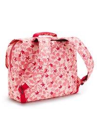 Kipling - INIKO - Schooltas - pink leaves - 1