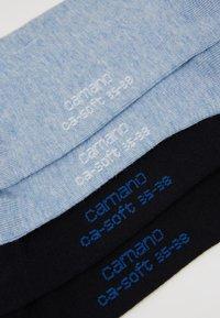 camano - SOFT SOCKS 4 PACK - Ponožky - navy - 2