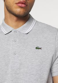 Lacoste Sport - DETAILED COLLAR - Polo - silver chine/white - 5