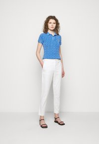 Polo Ralph Lauren - MODERN STRETCH - Trousers - deckwash white - 1