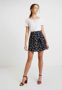 Leon & Harper - JIMBO CHERRY - A-line skirt - navy - 1