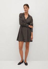 Mango - COSMO - Shirt dress - noir - 1