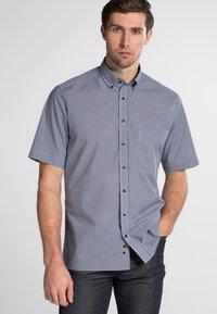 Eterna - REGULAR FIT - Shirt - marine/white - 0