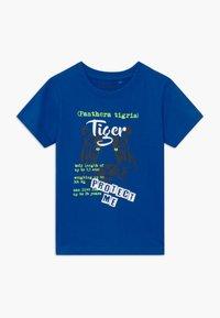 Blue Seven - SMALL BOYS TIGER GORILLA 2 PACK - Print T-shirt - blue/white - 1