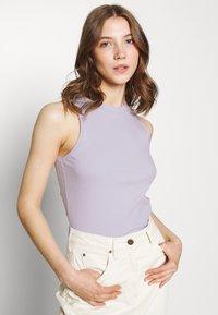 Vero Moda - VMLAVENDER - Linne - pastel lilac - 3