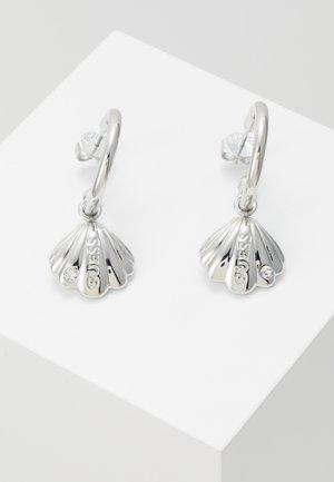 MERMAID - Earrings - silver-coloured