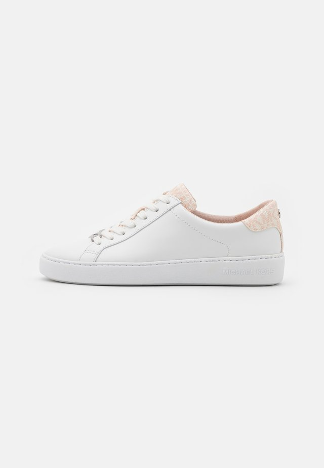 IRVING LACE UP - Sneakers laag - optic white/soft pink