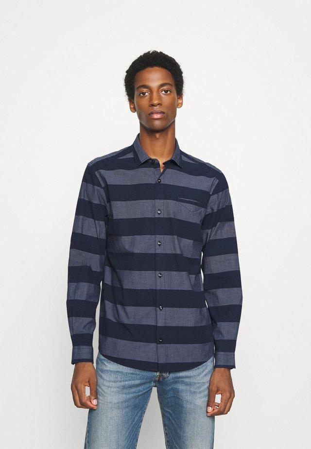 LANGARM - Shirt - dark blue