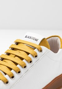 Blackstone - Baskets basses - white/oil yellow - 2