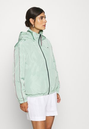 CORY FUNNEL PACKABLE - Summer jacket - sea mist mint