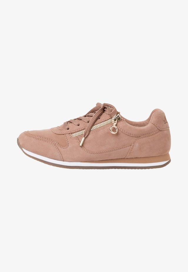 Sneakers laag - old rose