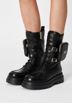 MORRISSON AVE - Lace-up boots - black