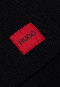 HUGO - ZAFF UNISEX - Scarf - black - 2