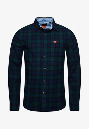 HERITAGE - Shirt - foden green check