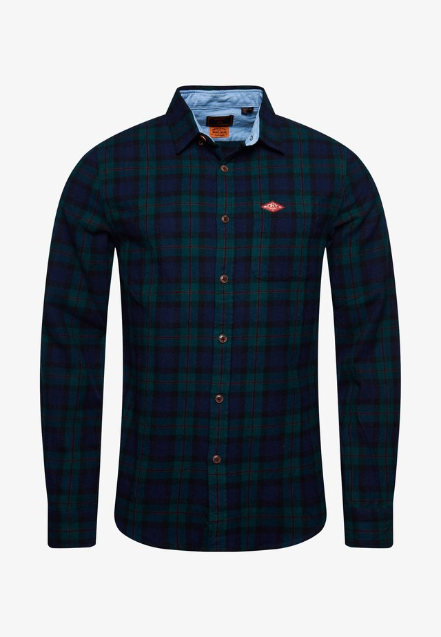 HERITAGE - Camisa - foden green check