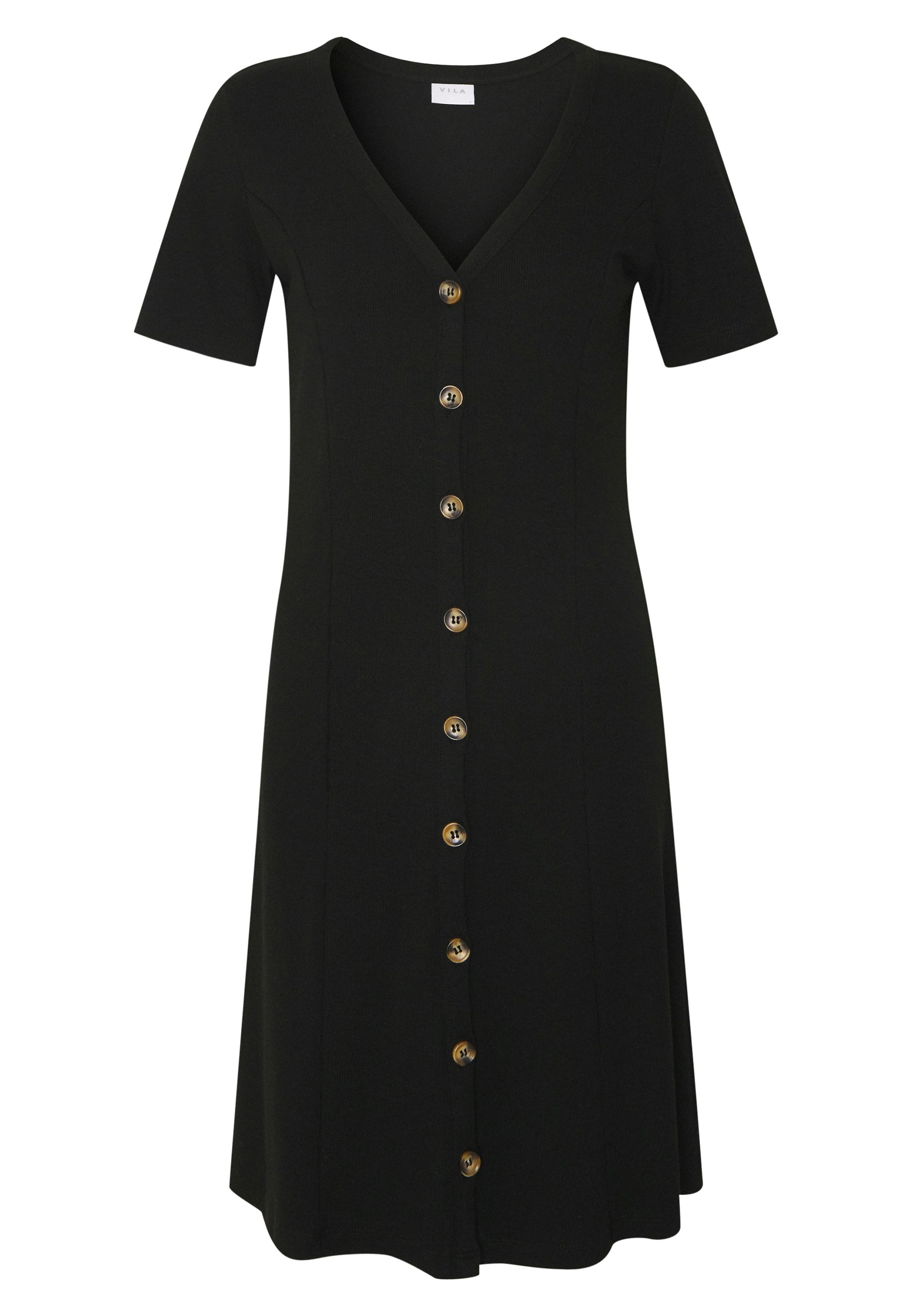Vila VICONIA DRESS - Jerseykjole - black