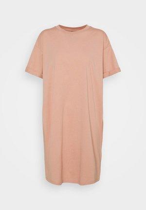 PCRIA - Jersey dress - misty rose
