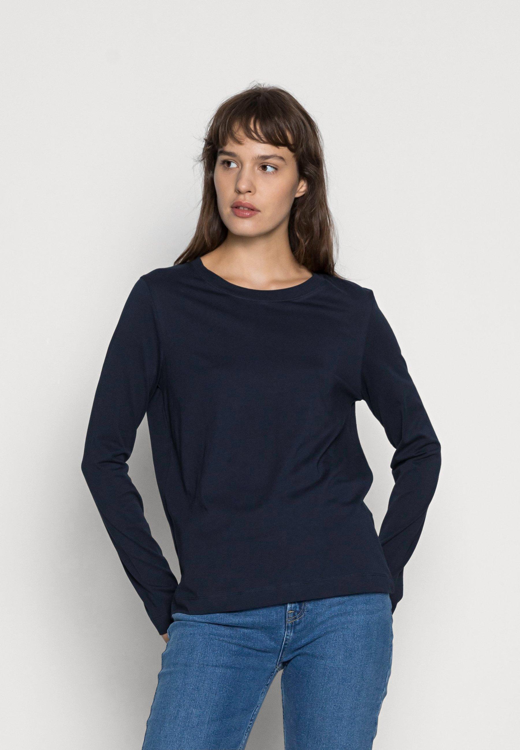 Mujer SLFSTANDARD TEE - Camiseta de manga larga