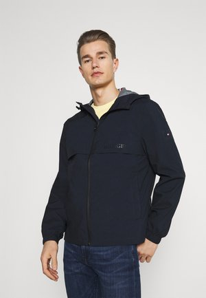 TECH HOODED JACKET - Giacca leggera - desert sky