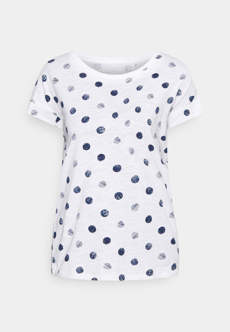 Esprit - CORE - Print T-shirt - off white