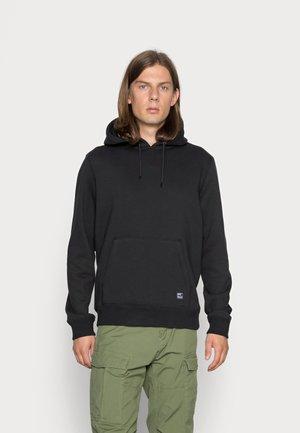 DERBY HOODED - Sweater - black