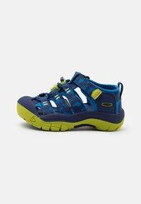 Keen - NEWPORT H2 UNISEX - Walking sandals - blue depths/chartreuse - 0