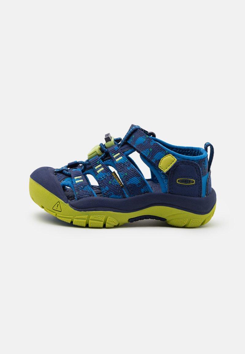 Keen - NEWPORT H2 UNISEX - Walking sandals - blue depths/chartreuse